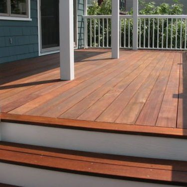 Deck Staining - Service